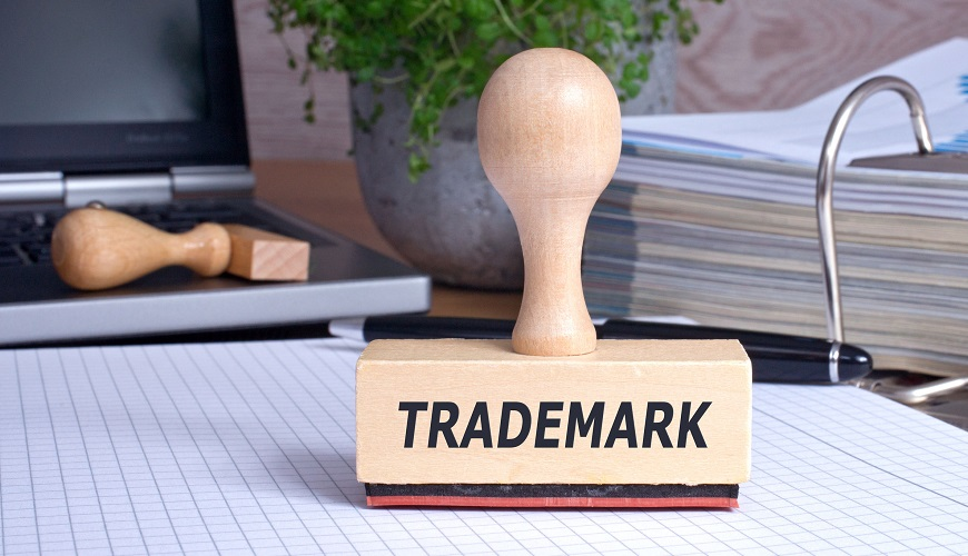 50027389 – trademark rubber stamp in the office